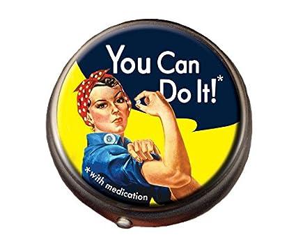 Rosie-the-Riveter-Pill-Box