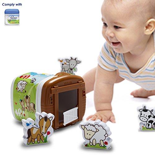 Ecodu'S Complimentary Farm Life Kit For Gerber Good Start Powder Plastic Box, 23.2 Ounce