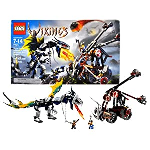 Lego Year 2006 Vikings Series Collectible Set #7021 - Viking Double