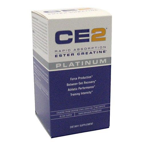 CE2 Platinum-MRI Rapid Absorption Ester Creatine, 180 Caplets