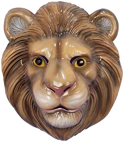 Forum Novelties Child's Plastic Animal Mask, Lion