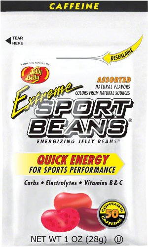 Jelly Belly Sport Beans Extreme, Assorted, 24 Count