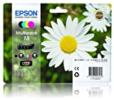 T1806 Epson 18 Multipack 4 Item Original Ink Cartridges C13T18064010 Daisy Series