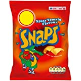 Smiths Snaps Spicy Tomato Flavour Price Marked 39p (Pack of 30)
