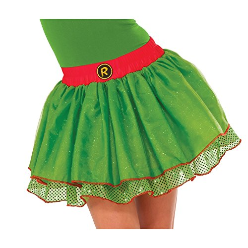 Women's Teenage Mutant Ninja Turtles Raphael Sequin Tutu Skirt Costume Accessory