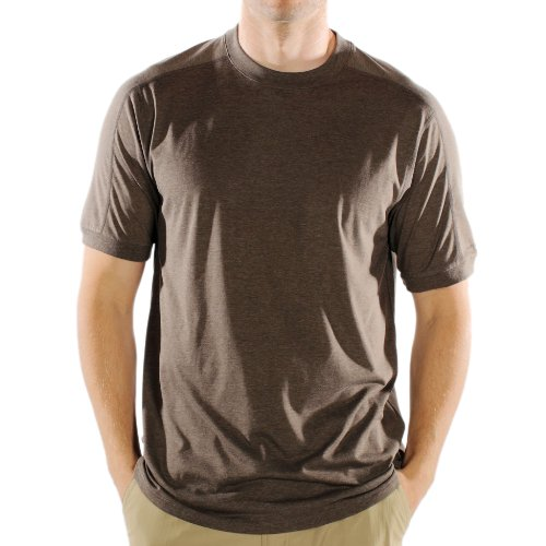 ExOfficio Men's Exo Dri Tee Shirt,Cigar,Medium