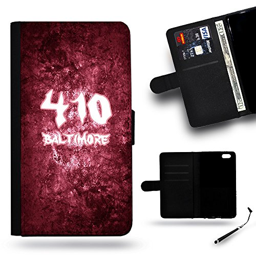 Phonecell City // Special PU Leather Wallet Case Protective Case for HTC ONE M9 HTC M9 /Baltimore MD Maryland 410 US area (Party City Baltimore Md)