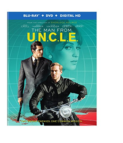 MAN FROM U.N.C.L.E., THE (BLU-RAY+DVD+ULTRAVIOLET COMBO PACK)