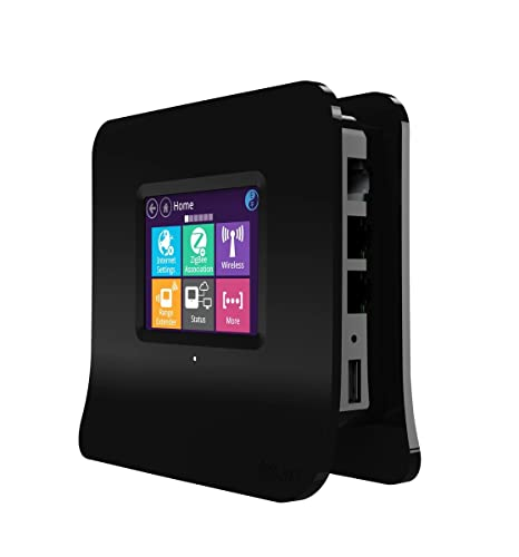 Securifi Almond 2015 - (Installation En 3 Minutes) Routeur Sans Fil Longue Portée à Ecran Tactile / Prolongateur de Portée + Centrale Domotique