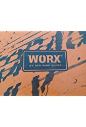 Wrox By Red Wing Oxford Black Safety Footwear