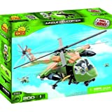 Cobi 2324 Small Army Black Hawk In The Jungle Camouflage 200 Pcs Building Bricks