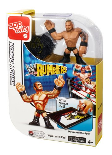 WWE Rumblers Apptivity Randy Orton Figure