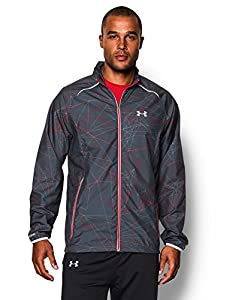Under Armour Herren Jacke Storm Launch Herren running XL grau - Wire