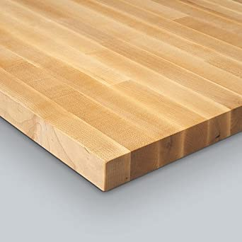 """RELIUS SOLUTIONS 1-1/2"""" Butcher Block Maple Top by JOHN BOOS - 60x30"""" - Square Edge"""