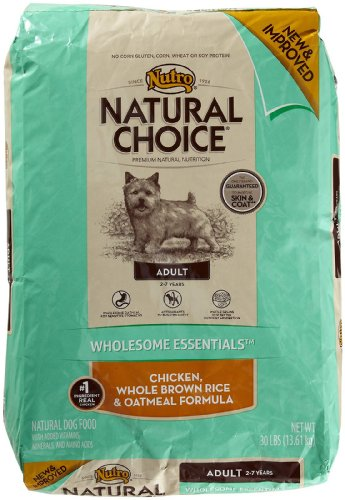 Nutro Wholesome Essentials Adult Whole Brown Rice & Oatmeal - 30 Lbs