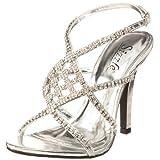 Sizzle by Coloriffics Women's Broadway Sandal,Silver,8 M  US