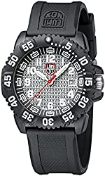 Luminox Ggl.l3057.25th Men's 25th Anniversary Navy Seal Colormark Polycarbonate Case White Dial Black Watch