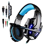 Gaming Headset For PlayStation 4 PS4 Tablet PC IPhone 6/6s/6 Plus/5s/5c/5 Mobilephones, 3.5mm Headphone With Microphone...