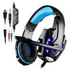 Gaming Headset for PlayStation 4 PS4...