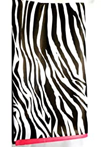 Pink Zebra Table Cover