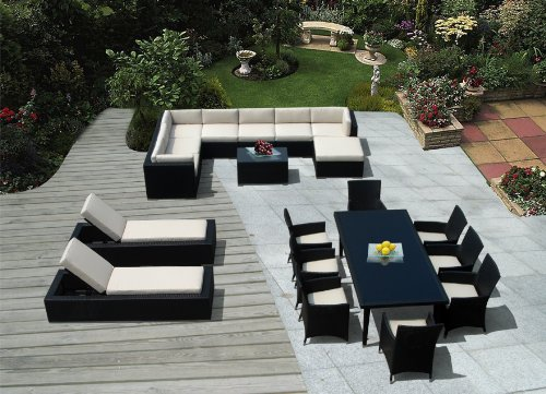 Genuine Amazing Ohana Outdoor Sectional Sofa,