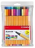 Stabilo 88 30-Color Wallet Set