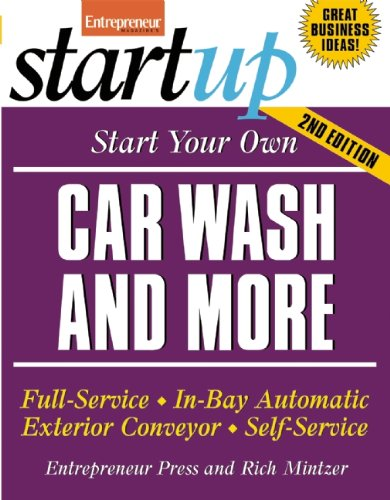 Start Your Own Car Wash and More (Startup Series)