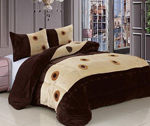 Faux Fur Comforter King front-714953