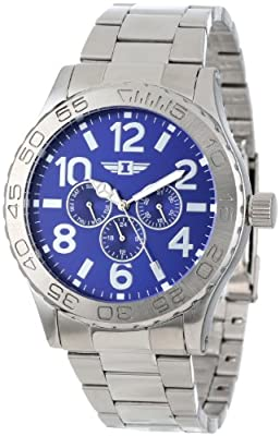 I By Invicta Men's 41704-002 Stainless Steel Blue Dial Watch
