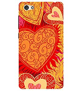 Chiraiyaa Designer Printed Premium Back Cover Case for Gionee S6 (boy girl friend valentine miss kiss heart pattern) (Multicolor)