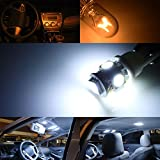 iJDMTOY Premium SMD LED Lights Interior Package Combo for 2008-up Mitsubishi Lancer or Evolution X, Xenon White