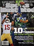 Richard Sherman Seattle Seahawks Hand Signed/Autographed Sports Illustrated Magazine at Amazon.com