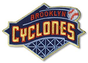 Brooklyn Cyclones Primary Team Logo Patch by The Emblem Source