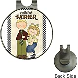 Father's Day Magnetic Golf Ball Marker Hat Clip
