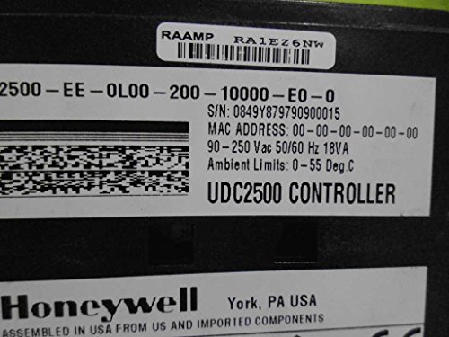 HONEYWELL UDC2500-EE-0L00-200-10000-E0-0 CONTROLLER *NEW NO BOX* (Honeywell Udc2500 compare prices)
