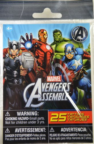 Marvel Avengers Assemble Tattoos - 25 Tattoos - 1