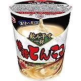【ケース販売】飲み干す一杯 背脂とんこつラーメン タテ型 70g×12個