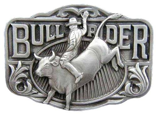 Bull Rider Novelty Belt Buckle