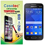 Casotec 2.5D Curved Edge Tempered Glass Screen Protector For Samsung Galaxy Ace NXT