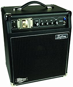 Kustom Amps DE50 50-Watt Bass Combo with 10-Inch Speaker