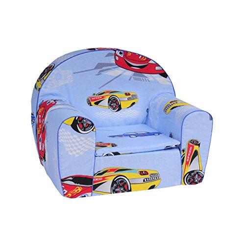 Babysitz-Kindermbel-Kindersessel-Kleinkind-FOTELIK-BOBAS-Blau-Auto