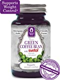 NEW!!! 100% Pure Green Coffee Bean Extract with SVETOL - 60 Vegetarian Capsules (1 Bottle)