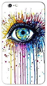 Brilliant 3D multicolor printed protective REBEL mobile back cover for iPhone-6Plus - D.No-DEZ-2543-ip6plus