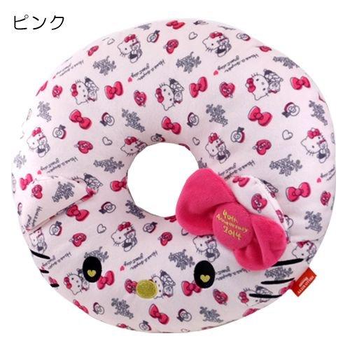 Hello Kitty [cushion, Enza / 40th anniversary of Sanrio [Pink]