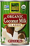 Native Forest Unsweetened Classic Coconut Milk, Organic, 13.5 Fl Oz