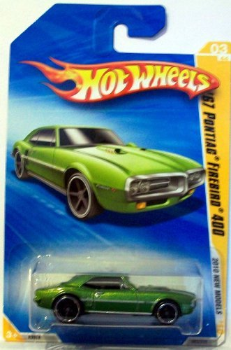 Hot Wheels 2010-003 New Models '67 Pontiac Firebird 400 GREEN 1:64 Scale - 1