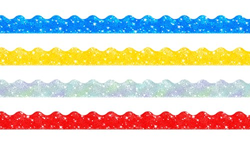 trend-enterprises-sparkle-scalloped-terrific-trimmers-variety-pack-4-colors-130-t-92901