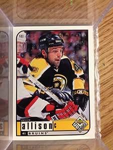 1998-99 Upper Deck Choice UD Reserve # 14 Jason Allison