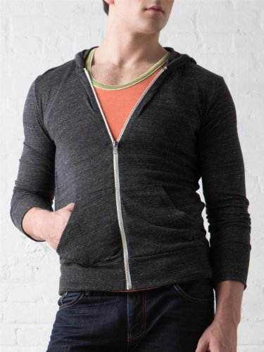 Men's Eco-Heather Zip Hoodie