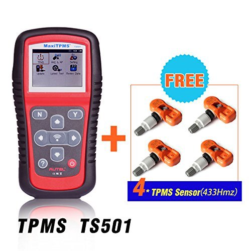 Autel MaxiTPMS TS501 OBD2 Code Reader Auto Scan Tool (Tpms Reset Tool Gm compare prices)